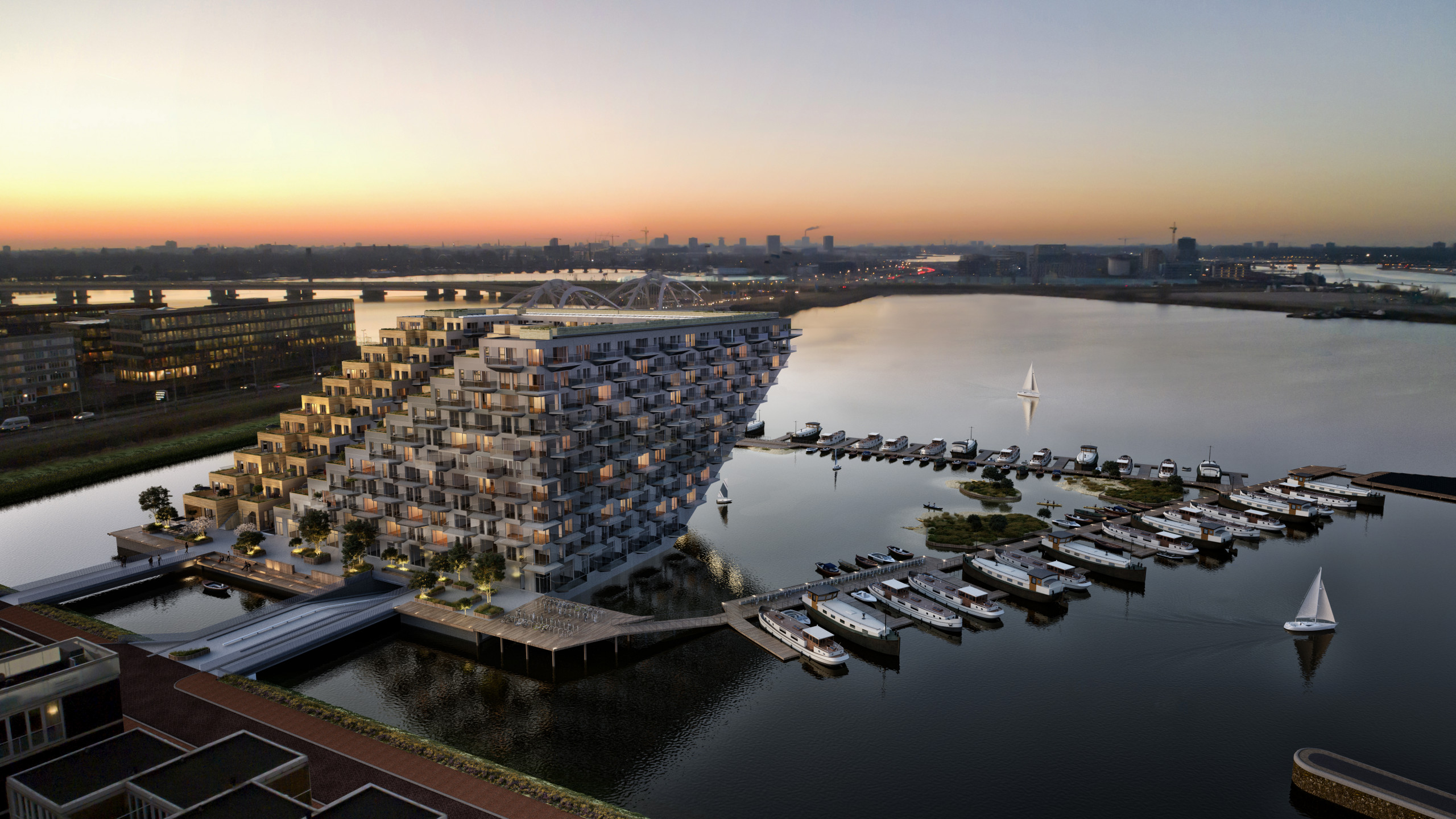 Beeldenfabriek - Waterprogramma Sluishuis Amsterdam