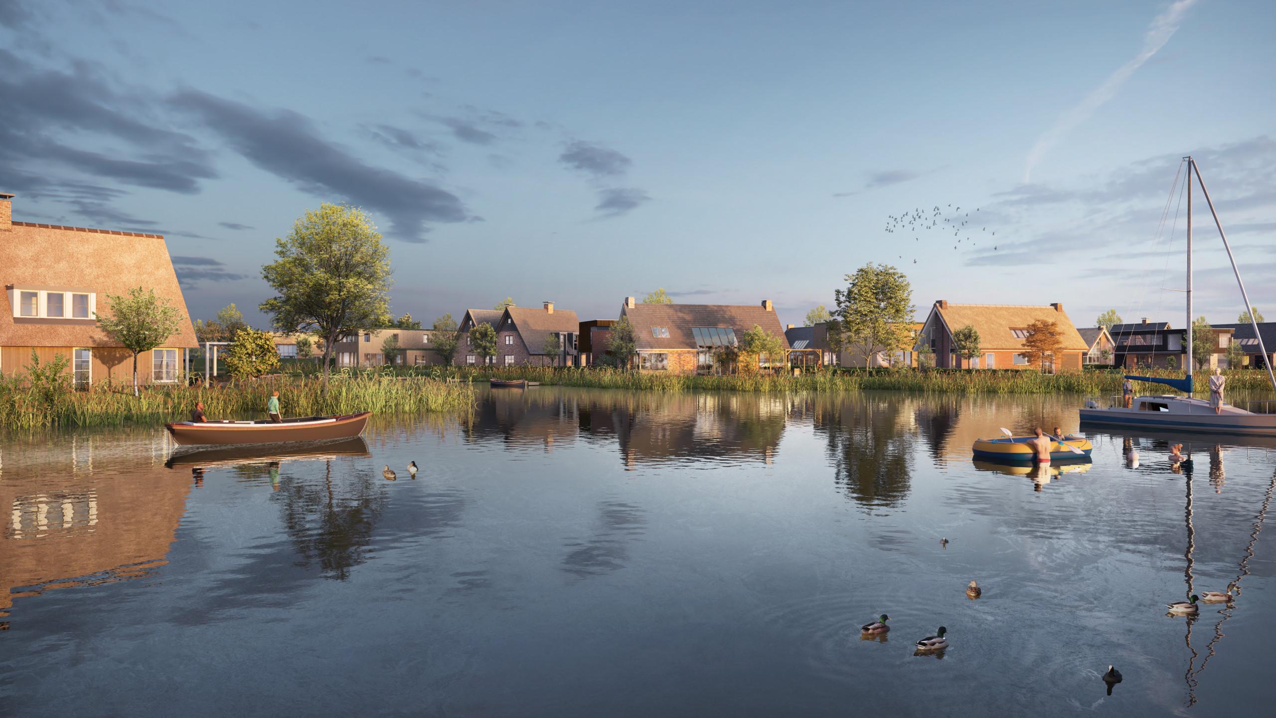 Beeldenfabriek - Meerstad - De Zeilen