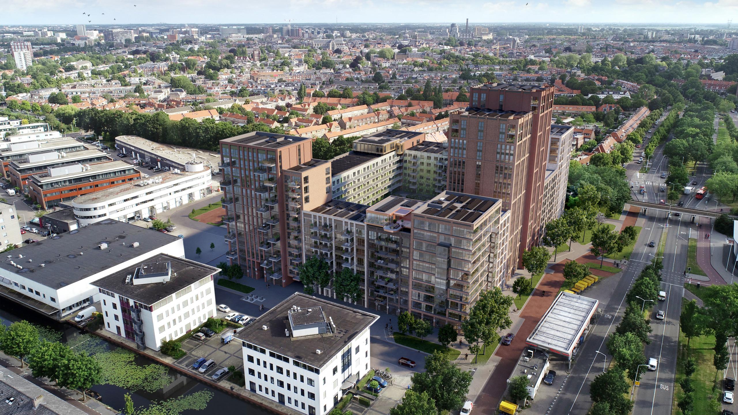 Beeldenfabriek - De Ananas te Leiden