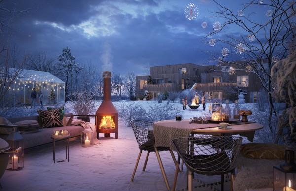 Beeldenfabriek - Zuiver Bosrijk te Eindhoven - winter