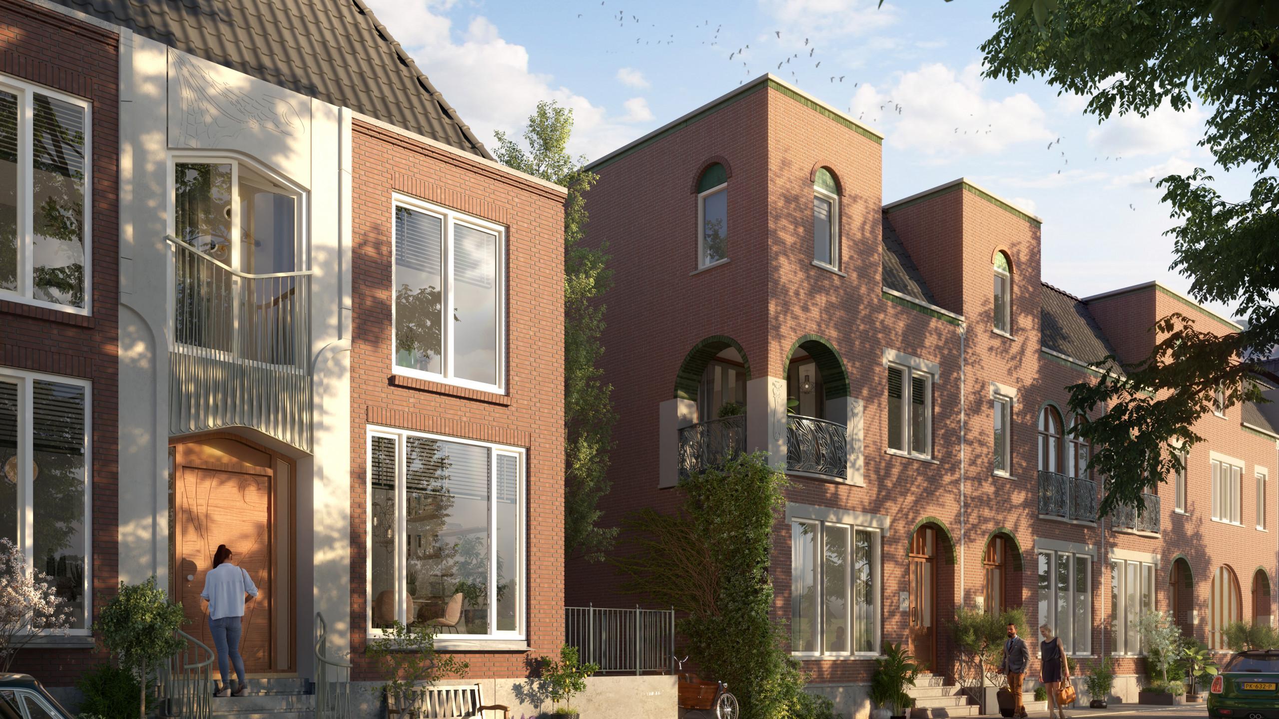 Beeldenfabriek - Nieuw Kralingen te Rotterdam