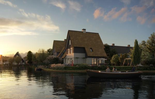 Beeldenfabriek - Waterrijk 5A1 west te Weespersluis