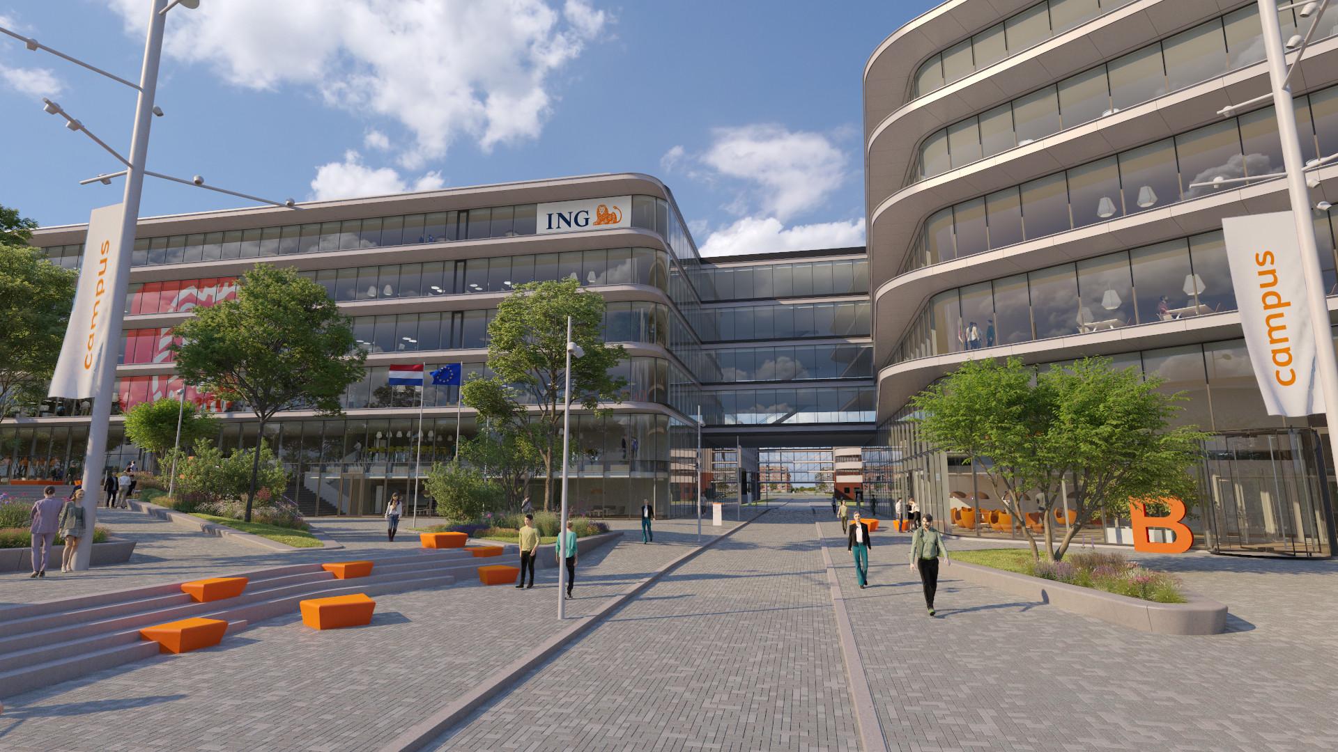 Beeldenfabriek - Ervaar de nieuwe ING Campus in VR